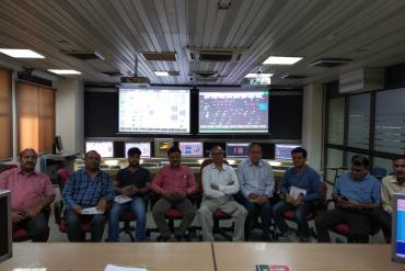 CCGT Simulator training photographs