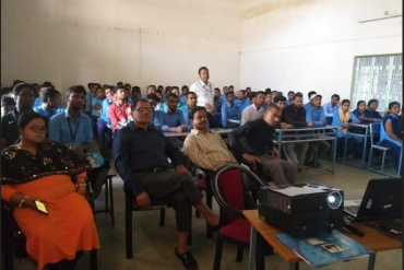 NPTI Conducted One Day Workshop on  Cyber Security at OP Jindal Community College Godda, Jharkhand.
