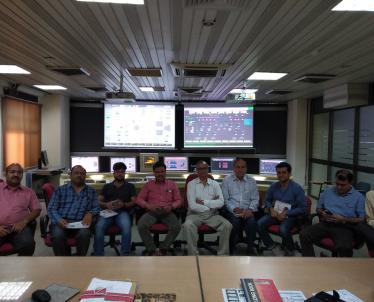 CCGT Simulator training photographs