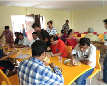Dinning facility of the New Executive Hostel Brahmaputra handed over to NPTI-NER by North Eastern Regional Eastern Transmission System, Power Grid, Shillong.