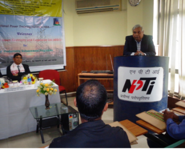 Inauguration of 3 days' Productivity Enhancement Program (PEP) for officials of Assam Electricity Grid Corporation Ltd. on 20.01.2020. Total fifty six (56) officials have attended the training program.