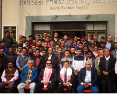 Group Photographs of 3 days' Productivity Enhancement Program (PEP) for Officials of Assam Electricity Grid Corporation Ltd. 1st batch from 20.01.2020. Total fifty six (56) officials have attended the training program.