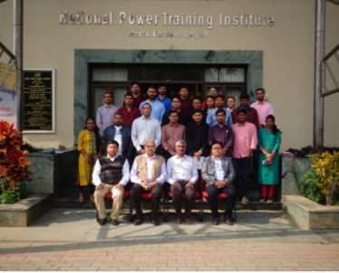 Visit of Shri V Suresh, Executive Director NERLDC, POSOCO, Shillong to 2 Weeks Basic Level Preparatory Course on Power System Operation in NPTI-NER on 12-Feb.-2020. Total 24 officials from POSOCO, Shillong; Telangana State Load Dispatch Centre, Assam State Load Dispatch Centre, UP State Load Dispatch Centre, Mizoram State Load Dispatch Centre.