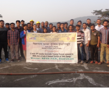 Assessment of 12 Weeks SPV Installer Suryamitra Program on 26-Dec.-2019 at NPTI-NER. Total 29 trainees have attended the 12 weeks SPV Installer program.