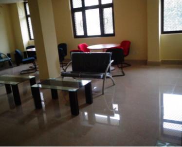 Common lobby area of the Executive Hostel Brahmaputra