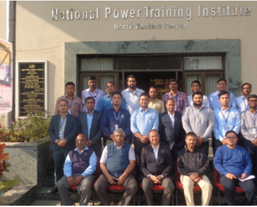 3 days' Training Program on Design, Erection and Commissioning of EHV Transmission Line on 10-12-2019. Total seventeen (17) officials from North Eastern Transmission Company Ltd. attended the training program.