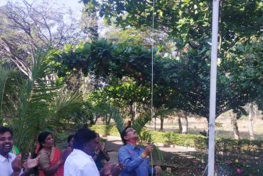 Republic day celebrations at NPTI HLTC Bangalore  2020