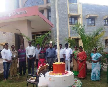 Hltc Republic day celebrations at NPTI HLTC Bangalore  2020