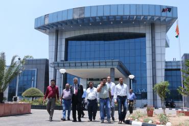 DG Visits at Nangal