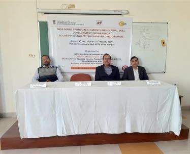 Inauguration of Suryamitra Program at NPTI-HPTC Nangal