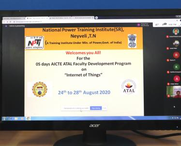 ATAL FDP on Internet of Things