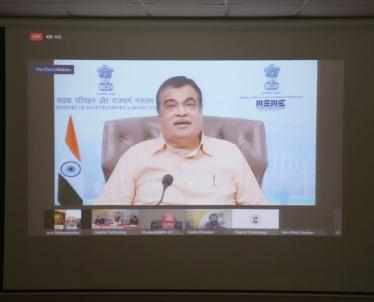 Centralize Inauguration by Shri Nithin Gadkari, Central Ministry