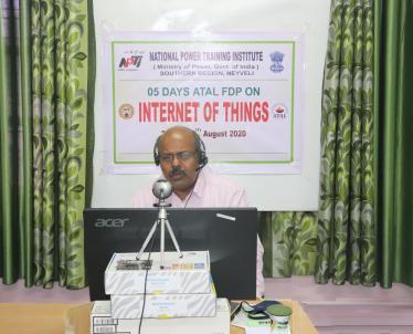 Address by Dr.S.Selvam, NPTI(SR), Neyveli