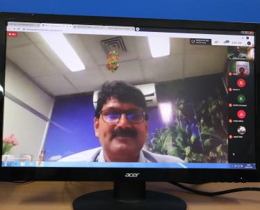 Validictory Address by Shri Ramachandra Parashar, CGM Computer Services, NLC India Limited, Neyveli